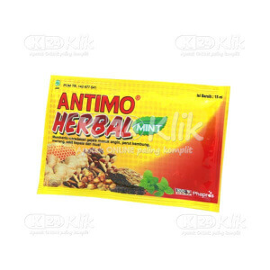 ANTIMO HERBAL 15ML SACH 10S