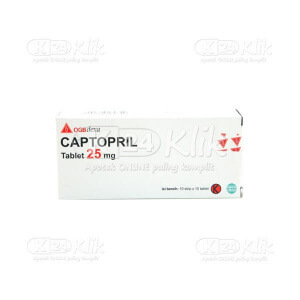 CAPTOPRIL DEXA 25MG TAB 100S