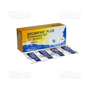 BROMIFAR PLUS TAB 100S