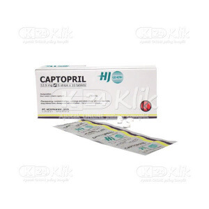CAPTOPRIL HEXPHARM 12.5MG TAB 100S