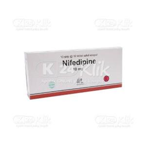 NIFEDIPIN IF 10MG TAB 100S