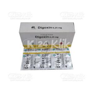 DIGOXIN IF 0.25MG TAB 100S