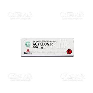 ACYCLOVIR DEXA 400MG TAB 50S