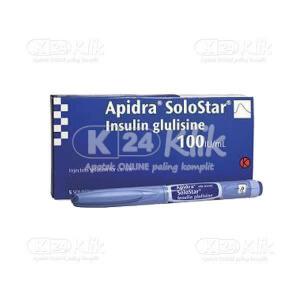 APIDRA 100IU/ML OPTIPEN SOLOSTAR