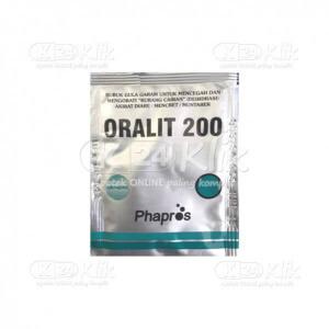 ORALIT PHAPROS 200MG SACH