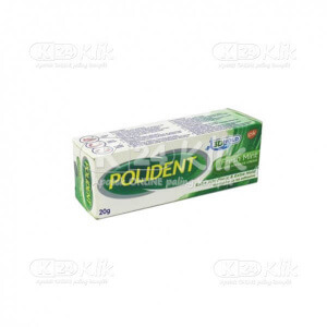 POLIDENT ADHESIVE FRESH MINT 20G