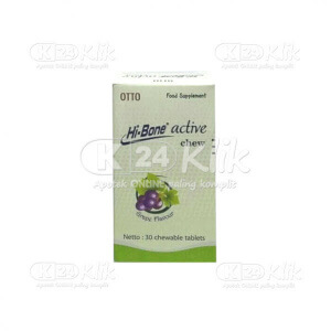 HI-BONE ACTIVE CHEW GRAPE 30S