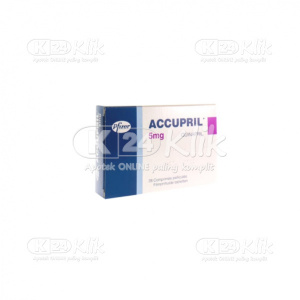 ACCUPRIL 5MG TAB 30S