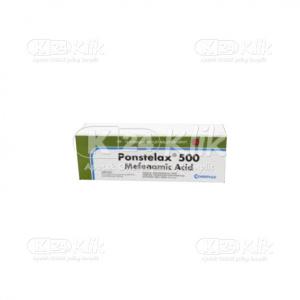 PONSTELAX 500MG CAPL 100S
