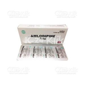 AMLODIPINE MEDIKON 5MG TAB 30S