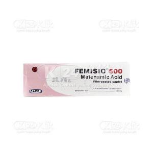 FEMISIC 500MG TAB 100S