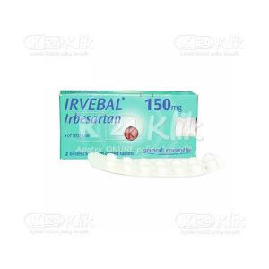 IRVEBAL 150MG TAB 28S