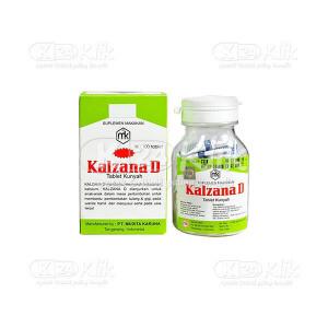 KALZANA D TAB 100S BTL