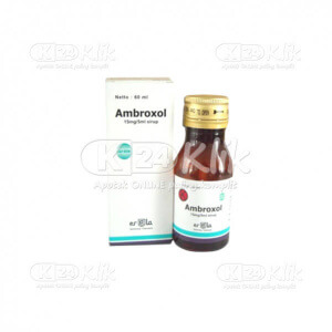 AMBROXOL ERELA 15MG/5ML SYR 60ML