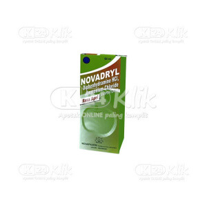 NOVADRYL SYR 60ML