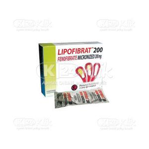 LIPOFIBRAT 200MG TAB 16S