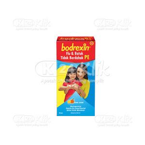 BODREXIN FLU&BATUK TIDAK BERDAHAK DPH SYR 56ML