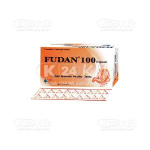 FUDAN 100MG CAP 30S