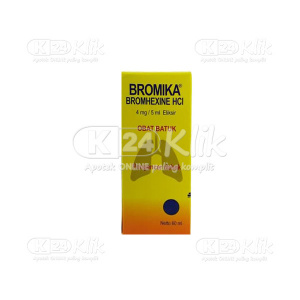 BROMIKA 4MG/5ML SYR 60ML