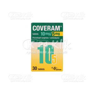 COVERAM 10MG/5MG TAB 30S