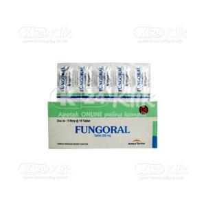FUNGORAL 200MG TAB 50S