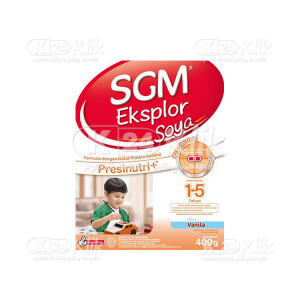 SGM EKSPLOR SOYA VANILLA POWDER 400G