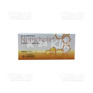 NUTRICHOLIN CAP 60S