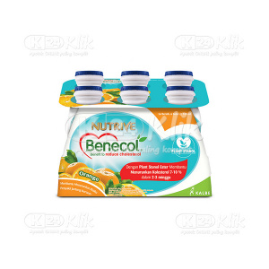 NUTRIVE BENECOL ORANGE NO SUGAR 100ML