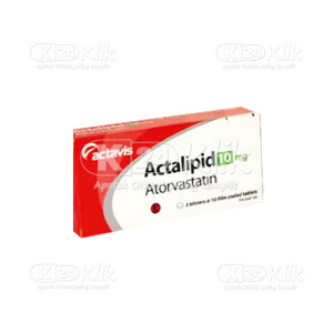 ACTALIPID 10MG TAB 100S