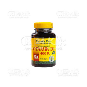 NATURE PLUS VITAMIN D3 400IU