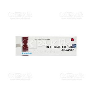 INTERMOXIL 500MG CAP 100S