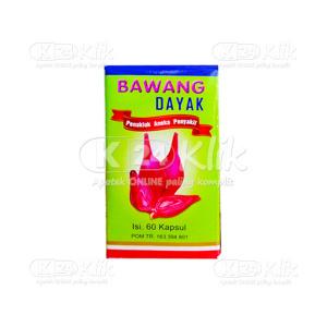 BAWANG DAYAK CAP 60S BTL
