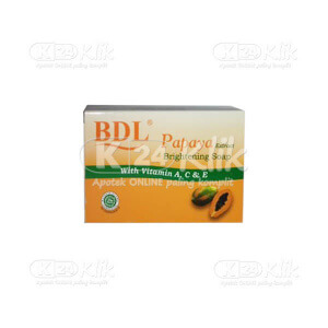 BDL PAPAYA BRIGHTENING SOAP 128G