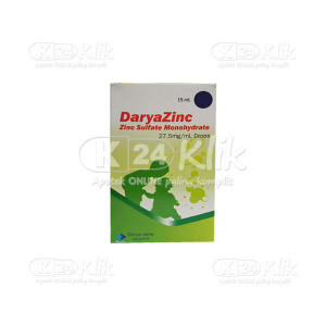 DARYAZINC 27.5MG/ML DROPS 15ML