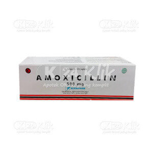 AMOXICILLIN BERNO 500MG TAB 100S