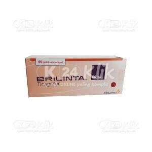 BRILINTA 60MG TAB 56S
