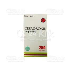 CEFADROXIL NOVELL F 250MG/5ML D SYR 60ML