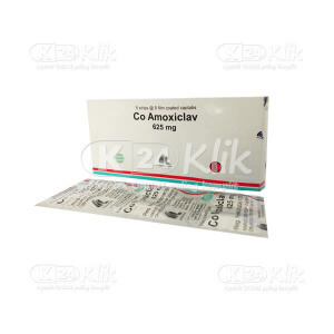 CO AMOXICLAVE IF 625MG TAB 30S