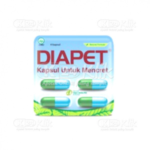 DIAPET CAP STR 4'S