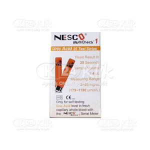 NESCO CHECK URIN ACID STRIP 25S