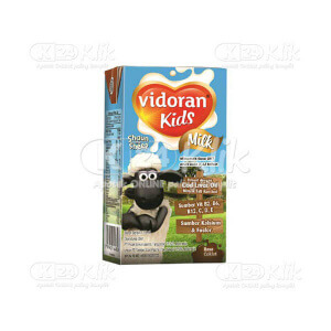VIDORAN KIDS MILK COKLAT CAIR 115ML