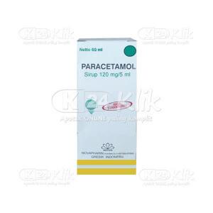 PARACETAMOL SYR 120MG/5ML