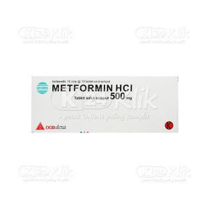 METFORMIN GEN DEXA 500MG TAB