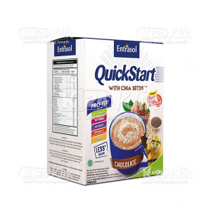 ENTRASOL QUICKSTART CHOCOLATE 30G 5'S