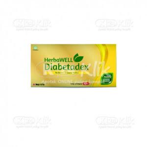 DIABETADEX 100MG CAP 6S STRIP 5S