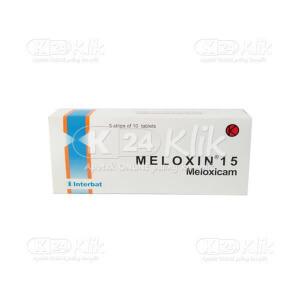 MELOXIN 15MG TAB 50S