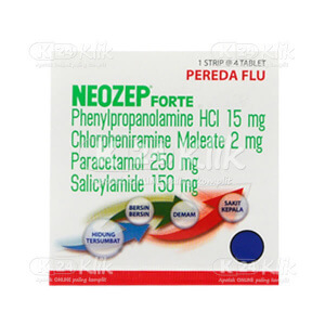 NEOZEP F TAB 4S STRIP 25S