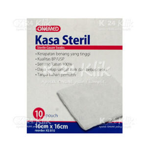 ONE MED KASA STERIL 16X16