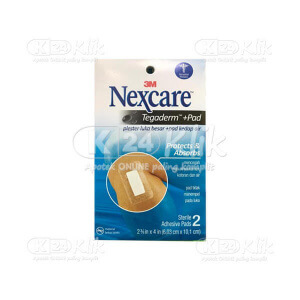 NEXCARE TEGADERM PAD PROTECT ABSORB 2S