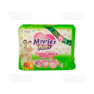 MERRIES PANTS GOOD SKIN XL 16S